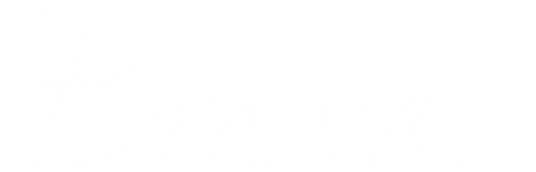 Logo in white, the word 'Brava' in cursive.